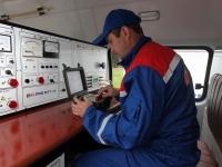 Электролаборатория для проверки БКТП